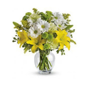 Teleflora�s Brightly Blooming Bouquet