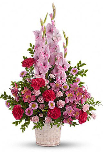 Teleflora's Heavenly Heights Basket