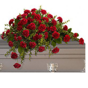 Teleflora's Adoration Casket Spray