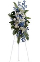 Teleflora's Ocean Breeze Standing Spray