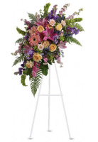 Teleflora's Heavenly Grace Standing Spray