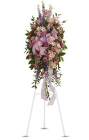 Teleflora's Finest Farewell Standing Spray