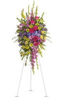 Teleflora's Bright and Beautiful Standing Spray
