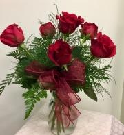 Classic Half Dozen Roses