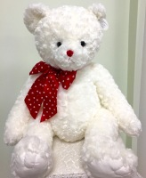Bearington Lovable Large white bear