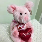 Love Hog Sweet pink pig