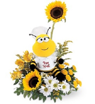 Teleflora\'s Bee Well Bouquet