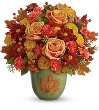 Teleflora\'s Heart of Fall Bouquet