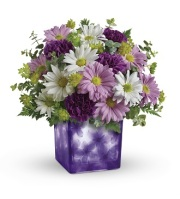 Dancing Violets Bouquet