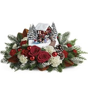 Kinkade's Snowfall Dreams Bouquet