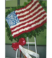 Flowered American Flag