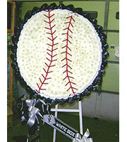 Flowered  Baseball