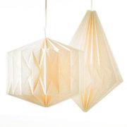 Geo Paper Lantern-Wide