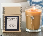 Clean Crisp White Votivo Candle