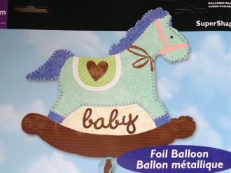Baby Boy Rocking Horse Balloon