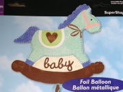 Baby Boy Rocking Horse Balloon
