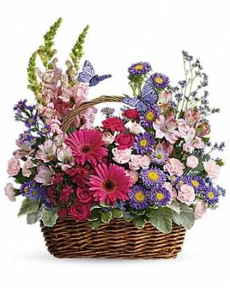 Country Basket Arrangement