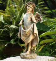 Angel with Skirt Birdfeeder