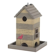 The Cardinal Bird Feeder