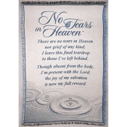 No Tears in Heaven Throw