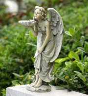 WHISPERING ANGEL BIRDFEEDER