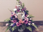 LOVING MEMORY ANGEL ARRANGEMENT