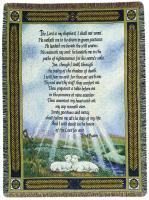 COMFORT THROW- 23RD PSALM