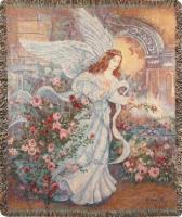 COMFORT THROW- ANGEL OF LOVE