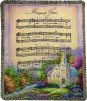 Comfort Throw- Chapel in the Woods- Amazing Grace