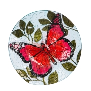 BUTTERFLY WITH CRUSHED GLASS