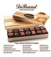 DeBrands 14 piece Chocolate Box