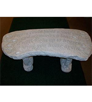 Large Stone Bench IF TEARS