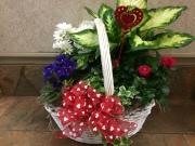 Valentine's Blooming Garden