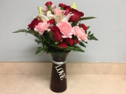 Joy of Love Vase