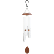 LARGE CARSON WINDCHIME- HEART REMEMBRANCE 60567