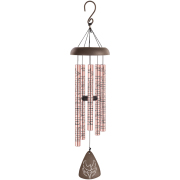 MEDIUM ROSE GOLD CARSON WINDCHIME- GOD HAS YOU