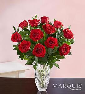 BLM Marquis By Waterford Red Roses