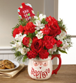 The FTD® Believe™ Mug Bouquet by Hallmark