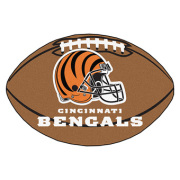 Bengals Door Mat Football