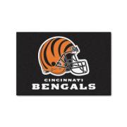Bengals Door Mat Helmet