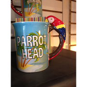 Jimmy Buffet 16oz Parrot Head Mug