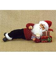 Lying Popcorn Santa