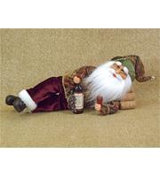 Lying Wine Santa