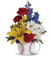 Teleflora It's a Hit Baseball Bqt.