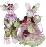 Mark Roberts Mr. and Mrs. Fashion Set of 2, 12