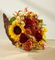 The FTD® Fall Harvest™ Cornucopia by Better Homes and Gardens®