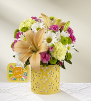 The FTD® Brighter Than Bright™ Bouquet by Hallmark