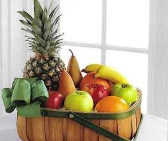 Open Fruit Basket