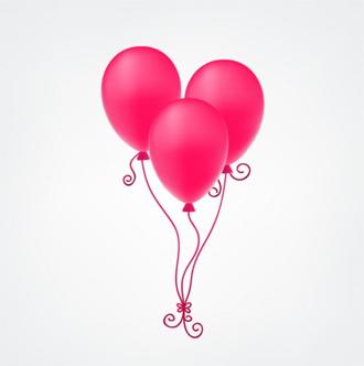 Latex Balloon Bunch