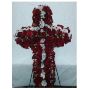Funeral Standing Spray Cross